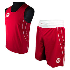 Ringside Red Boxing Vest & Short Set
