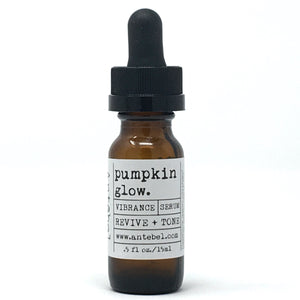 PUMPKIN GLOW Spot Treat Serum | Revive + Tone featuring Antimicrobial Clove and Vitamin A