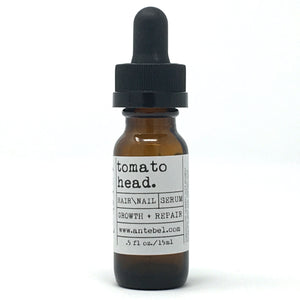 TOMATO HEAD Hair/Nail Serum | Repair + Growth featuring Tomato Seed Oil and Pink Grapefruit