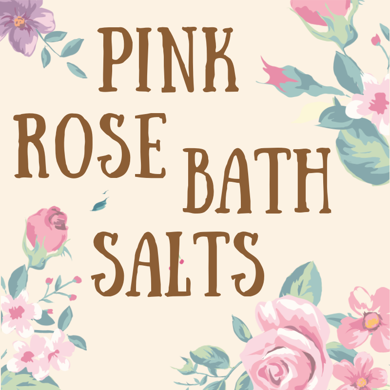 Pink Rose Bath Salts