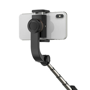 1-Axis Gimbal Stabilizer for Smartphones with Built-in Remote, Stabilizing Phone Stick - trendyful