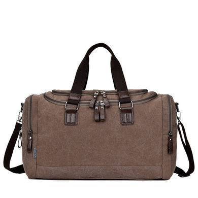 Dion Quality Canvas Weekender Bag | Canvas Travel Bag | Duffle Bag, Canvas Weekender Duffel Bag - trendyful