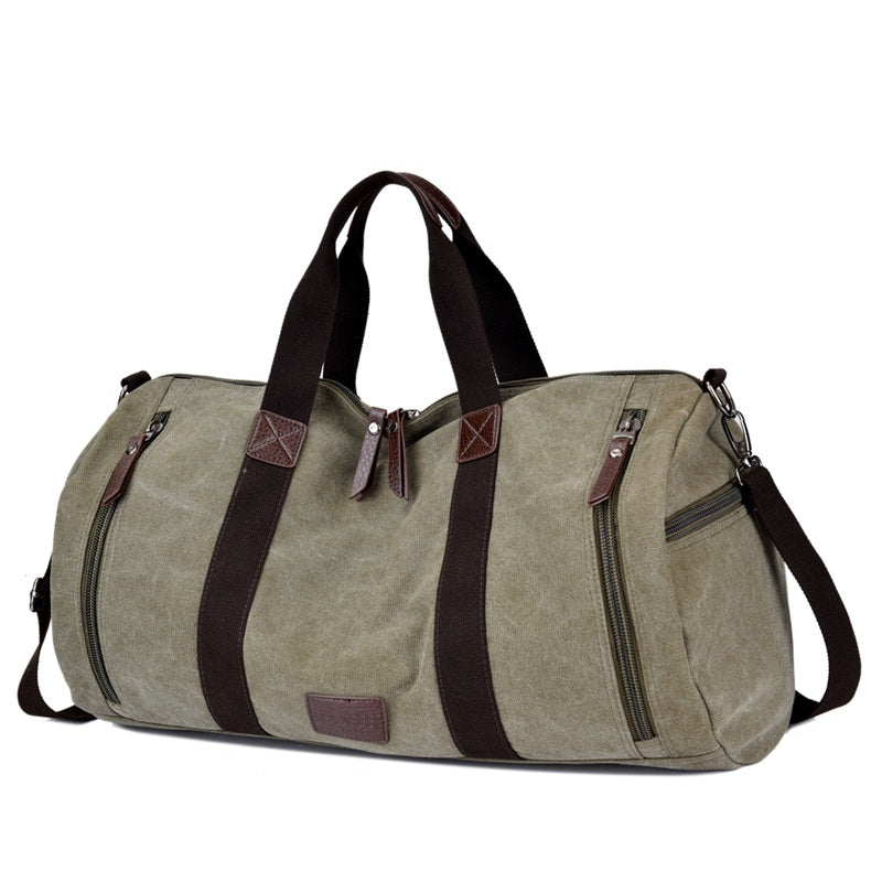 Quality Canvas Weekender Bag | Canvas Travel Bag | Duffle Bag, Canvas Duffel Weekender Bag - trendyful