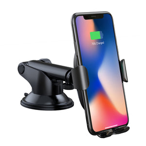 Premium Wireless Fast Car Charger & Phone Holder, Wireless Car Charger - trendyful