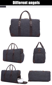 Logan Quality Canvas Travel Bag - trendyful
