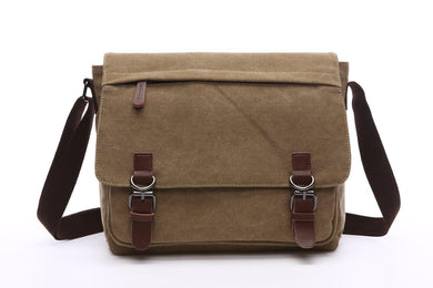 Canvas Messenger Bag | Laptop Bag | Satchel Bag 13