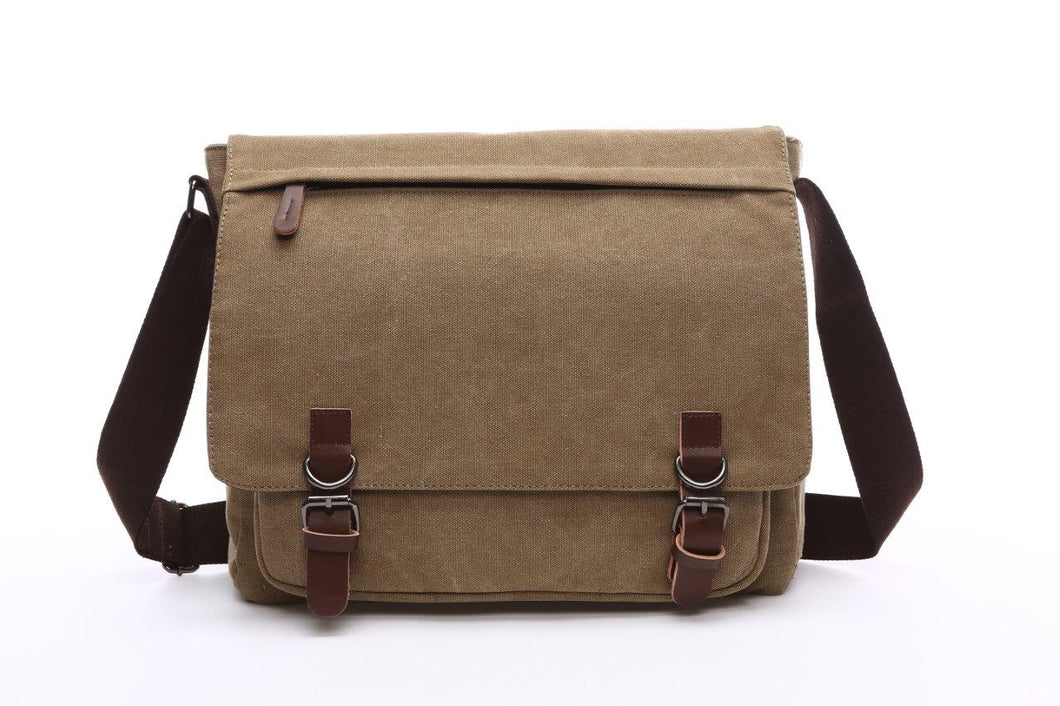 Canvas Messenger Bag | Laptop Bag | Satchel Bag 14