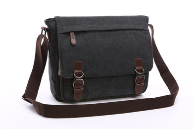 Crosstown Canvas Messenger Bag | Laptop Bag | Satchel Bag 15