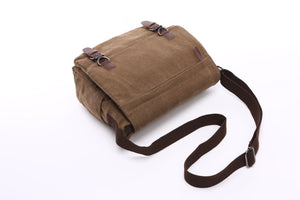 "Crosstown Canvas Messenger Bag | Laptop Bag | Satchel Bag 13"", Messenger Canvas Laptop Bag Large - trendyful"
