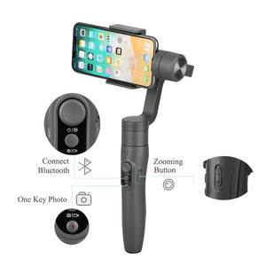 Feiyutech Vimble 2 (with Mini Tripod) 3-Axis Smartphone Gimbal Stabilizer, Stabilizing Phone Stick - trendyful