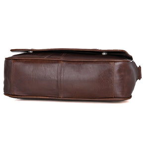 Genuine Leather Messenger Bag, Canvas Messenger Bag with genuine leather - trendyful