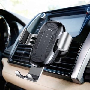 Baseus Premium Wireless Car Charger & Air Vent Phone Holder,  - trendyful