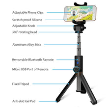 Load image into Gallery viewer, Alloy Selfie Stick | Tripod & Monopod, Selfie Sticks - trendyful