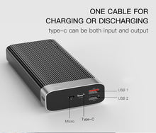 Load image into Gallery viewer, Premium 20000mah Power Bank, Fast Charging, Power Banks - trendyful