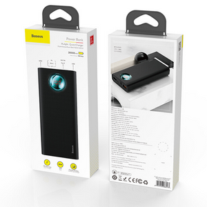 Baseus 20000mAh Power Bank Type C PD Quick Charge 3.0 - trendyful