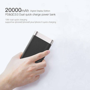 Premium 20000mah Power Bank, Fast Charging - trendyful