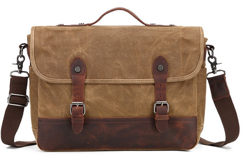 Canvas Messenger Bag | Laptop Bag | Satchel Bag, Canvas Messenger Laptop Bag - trendyful
