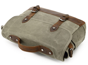 Lexington Canvas Messenger Bag | Laptop Bag | Satchel Bag, Canvas Messenger Laptop Bag - trendyful