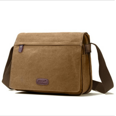 Canvas Messenger Bag / Crossbody Bag, Canvas Messenger Bag - trendyful