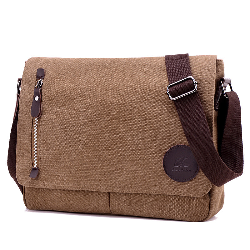 Toledo Canvas Messenger Bag | Satchel Bag 13