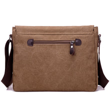 "Load image into Gallery viewer, Toledo Canvas Messenger Bag | Satchel Bag 13"" - trendyful"