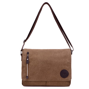 "Toledo Canvas Messenger Bag | Satchel Bag 13"" - trendyful"