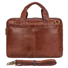 Load image into Gallery viewer, Norfolk Genuine Leather Messenger Bag, Leather Messenger Bag - trendyful