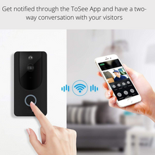 Load image into Gallery viewer, WiFi HD Video Doorbell + Indoor Chime, Video doorbell - trendyful