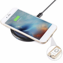 Load image into Gallery viewer, Fast Charging Qi Wireless Charger Receiver Charging Adapter, Qi Wireless receiver - trendyful