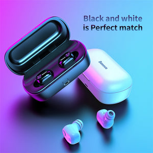 Baseus Premium In-ear Wireless Headphones W01, Wireless Headphones - trendyful