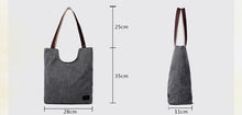 Load image into Gallery viewer, Women's Handbag Canvas Tote Shoulder Bag, Women Tote Bag - trendyful