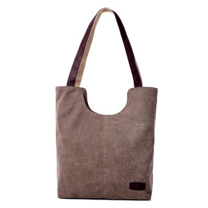 Women's Handbag Canvas Tote Shoulder Bag, Women Tote Bag - trendyful
