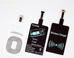 Fast Charging Qi Wireless Charger Receiver Charging Adapter, Qi Wireless receiver - trendyful