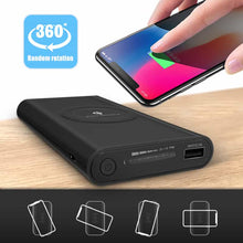 Load image into Gallery viewer, Wireless Power Bank 10000mah, Power Banks - trendyful