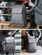 Load image into Gallery viewer, Mark Ryden Anti-Theft Backpack with USB Charging Port, Anti-theft backpack - trendyful