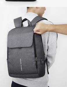 Mark Ryden Anti-Theft Backpack with USB Charging Port, Anti-theft backpack - trendyful
