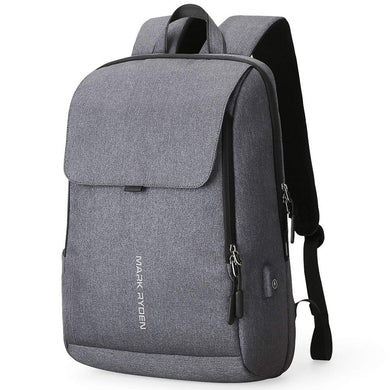 Anti-Theft Backpack with USB Charging Port, Anti-theft backpack - trendyful