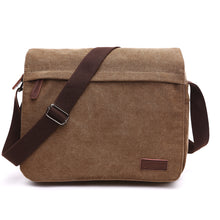 Load image into Gallery viewer, Urban Canvas Messenger Laptop Bag, Canvas Messenger & Laptop Bag - trendyful