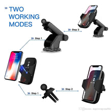 Load image into Gallery viewer, Premium Wireless Phone Charger & Holder With Sensor - trendyful