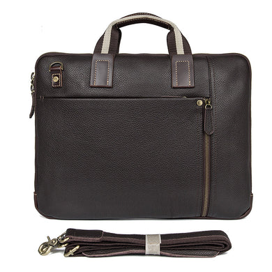 Memphis Genuine Leather Satchel - trendyful