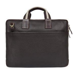 Memphis Genuine Leather Satchel, Leather Messenger Bag - trendyful