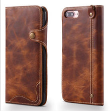 Load image into Gallery viewer, Genuine Leather iPhone Case, Phone Case - trendyful