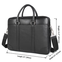 Load image into Gallery viewer, Calgary Men's Leather Messenger Bag, Leather Messenger Bag - trendyful