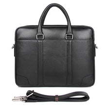 Load image into Gallery viewer, Men's Leather Messenger Bag, Leather Messenger Bag - trendyful