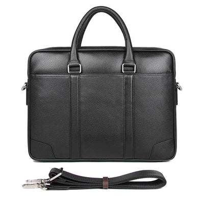 Men's Leather Messenger Bag, Leather Messenger Bag - trendyful