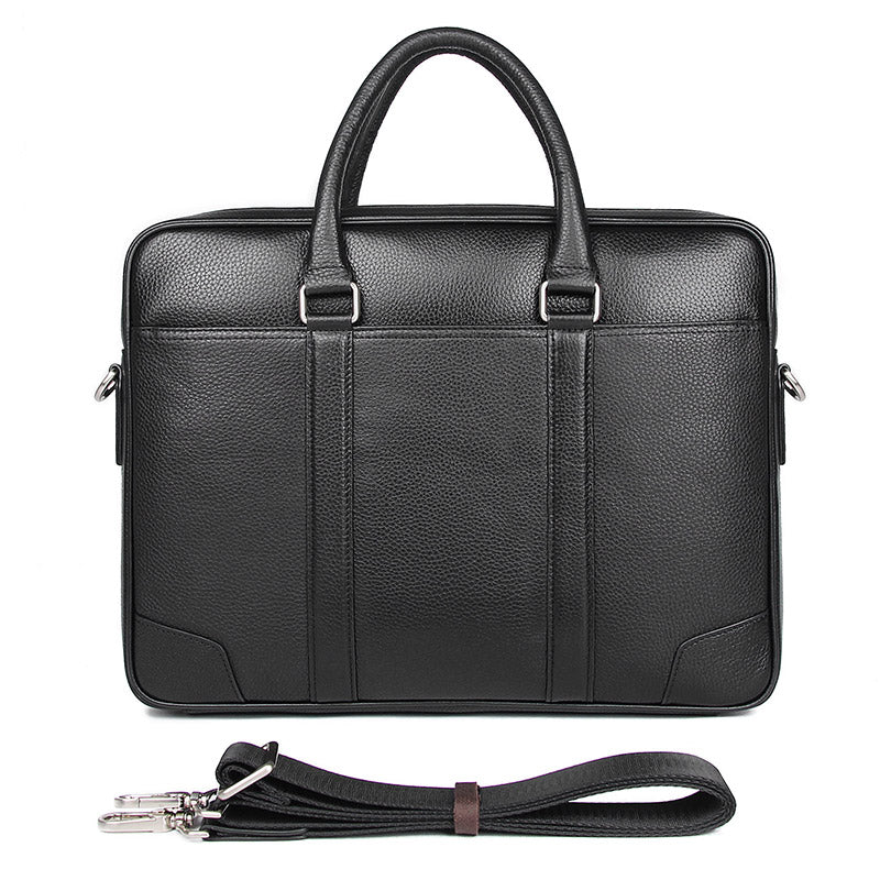 Calgary Men's Leather Messenger Bag, Leather Messenger Bag - trendyful