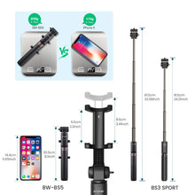 Load image into Gallery viewer, Selfie Stick | Tripod |  Extra Large | GoPro Adapter - trendyful