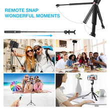 Load image into Gallery viewer, Selfie Stick | Tripod |  Extra Large | GoPro Adapter, Selfie Sticks - trendyful