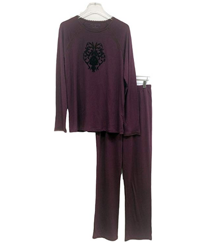 Womens Long Sleeve Sleepwear Set