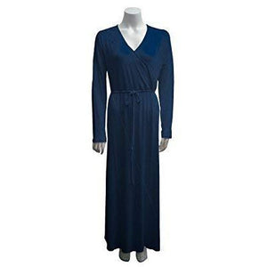 Women's Pima Cotton & Modal Long Weekend Robe - a1bebe